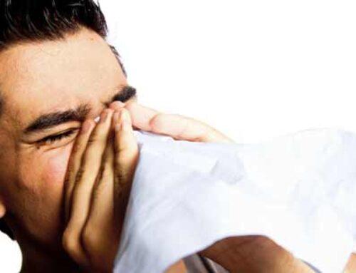 Løb med snottud, influenza eller tømmermænd?