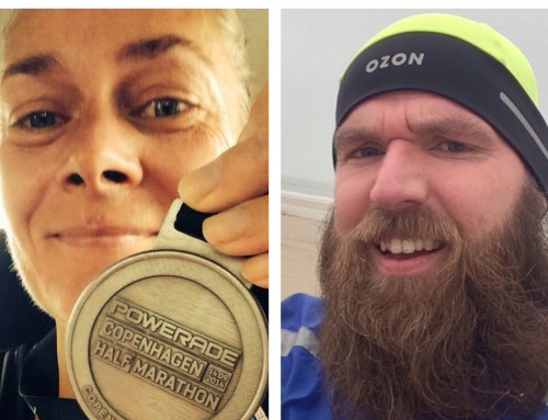 Interview med de to vindere af Cph Marathon startnumre